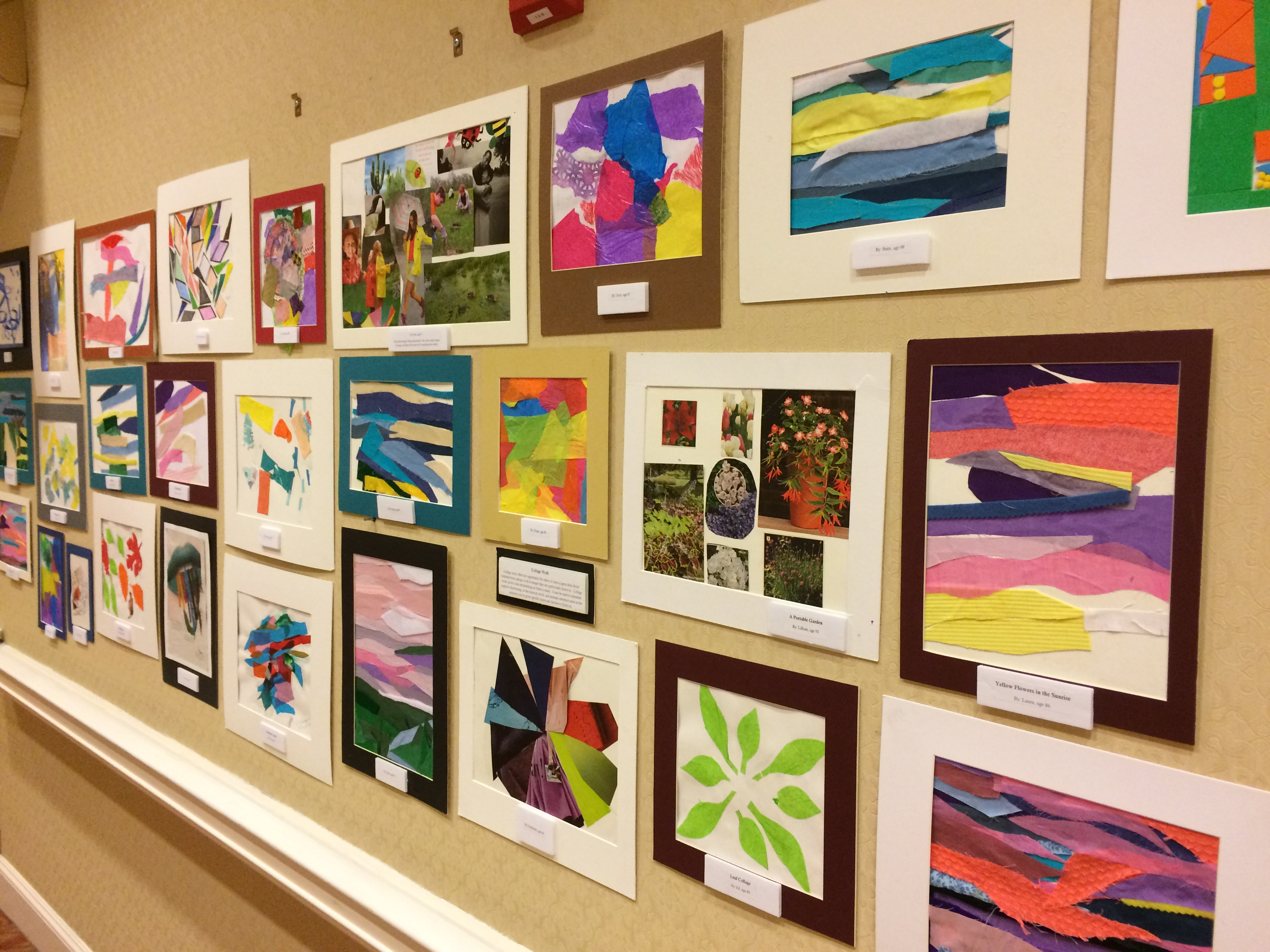 Art Therapy Residents Parc Provence Alzheimer's Dementia