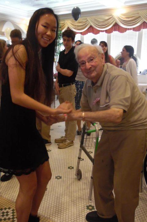 Senior Prom dancing memory care