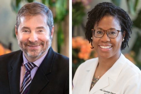 Dr. David Carr and Dr. Lenise Cummings-Vaughn