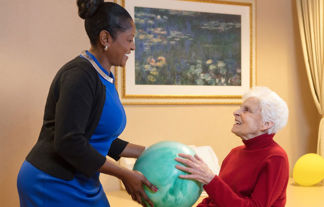 We offer quality physical therapy services right in our building.