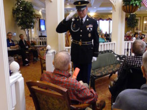 Parc Provence Honors Our Veterans