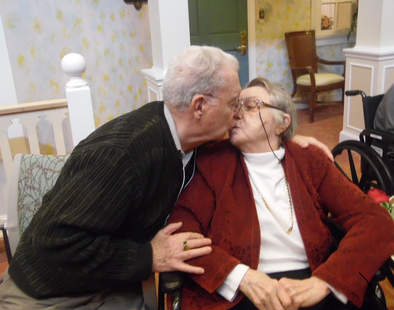 Valentine's Day Dementia Home