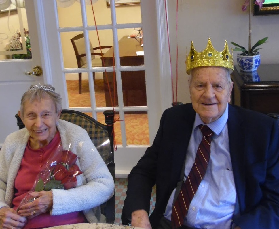 Valentine's Day Memory Care St. Louis