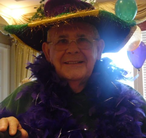 Mardi Gras Fat Tuesday Party Parc Provence Alzheimer's Dementia St Louis