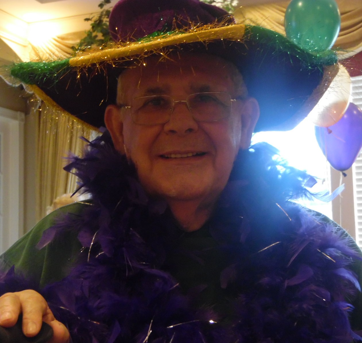 Mardi Gras Fat Tuesday Party Parc Provence Alzheimer's Dementia St Louis