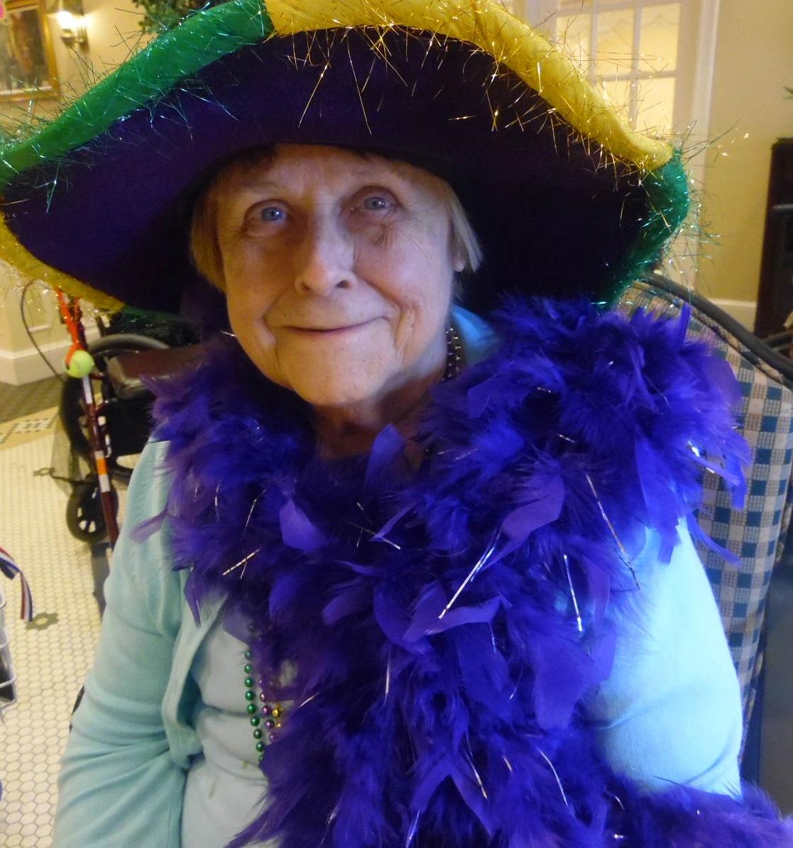 Mardi Gras Alzheimers Dementia Facility St Louis Memory Care Activity Senior Care