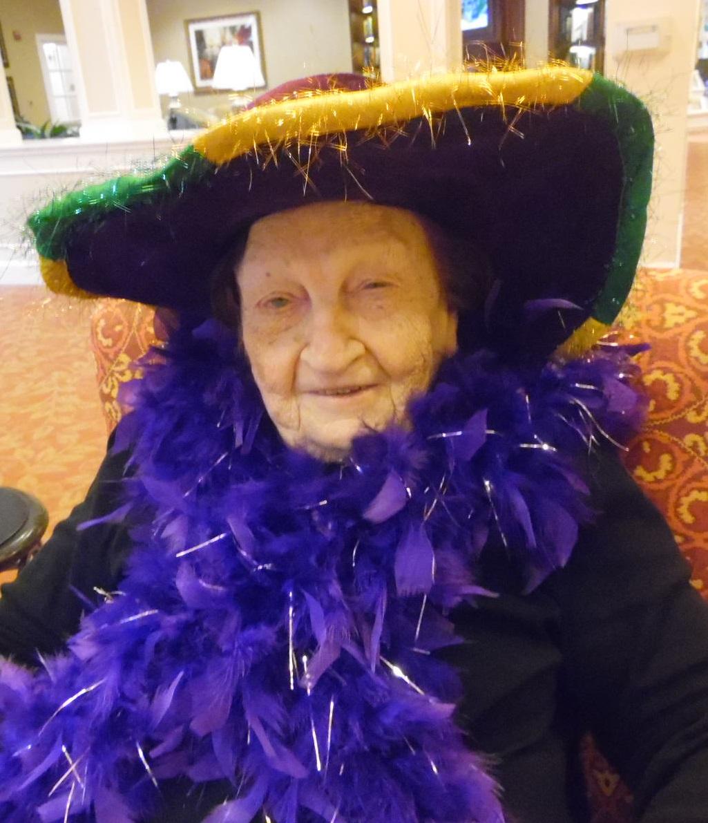 Mardi Gras Party St Louis Memory Care Facility