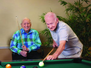 Billiards Clubs Provide More than a Pastime for Our Residents