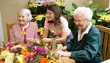 Parc Provence Art Therapy Adapting Activities for Seniors with Alzheimer's and Dementia