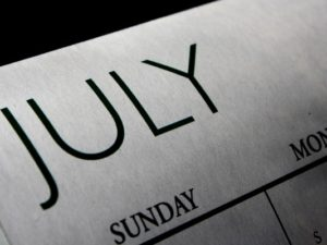 Our July Daily Activity Calendars Are Online Now
