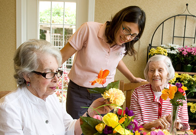 Caregiver with residents who may have Alzheimer's dementia, or a surprise cause of memory loss