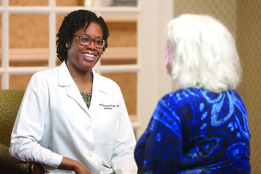 Parc Provence Associate Medical Director Dr. Lenise Cummings-Vaughn