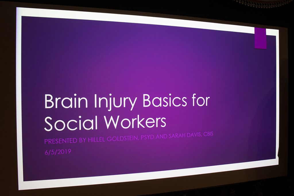The 2019 Brain Injury Training workshop at The Gatesworth