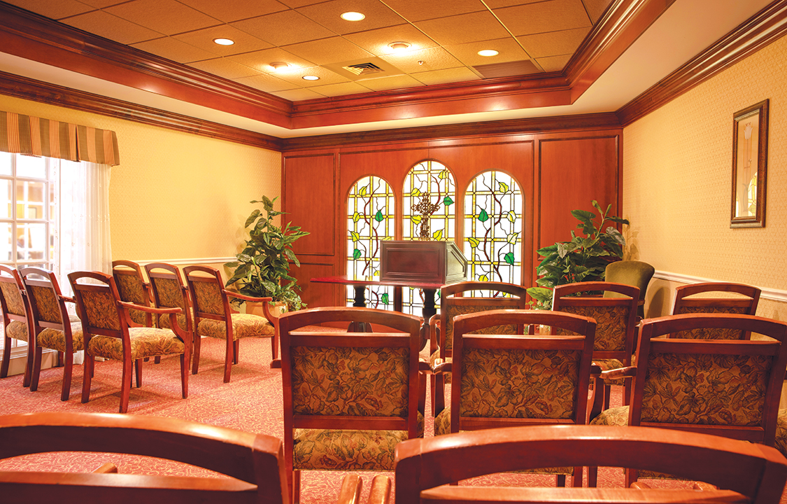 Parc Provence Memory Care Skilled Nursing Community Chapel