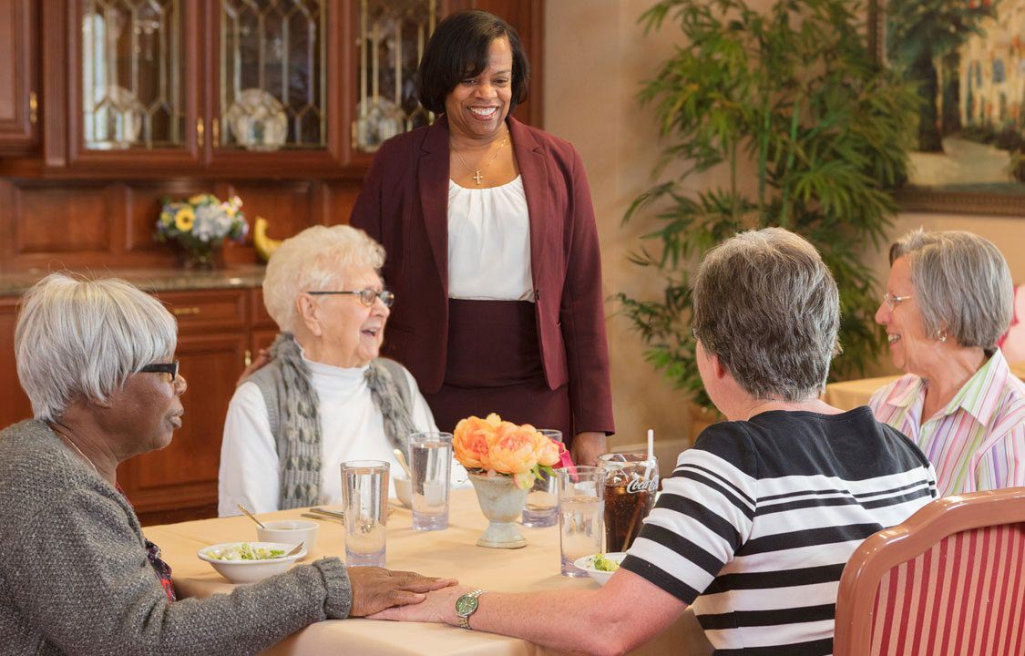 Parc Provence Memory Care Activities Dining