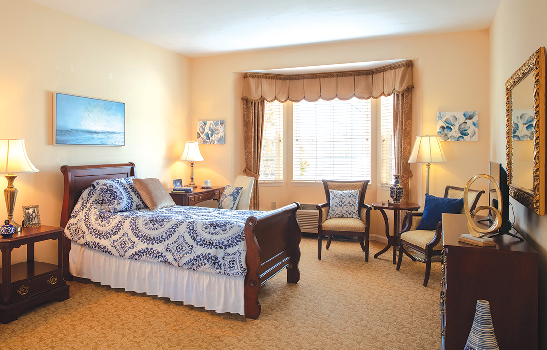Parc Provence Memory Care Skilled Nursing Community Bedroom 2
