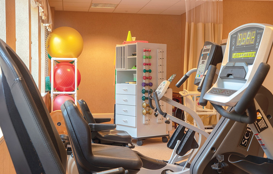 Parc Provence Memory Care Skilled Nursing Community Fitness Center