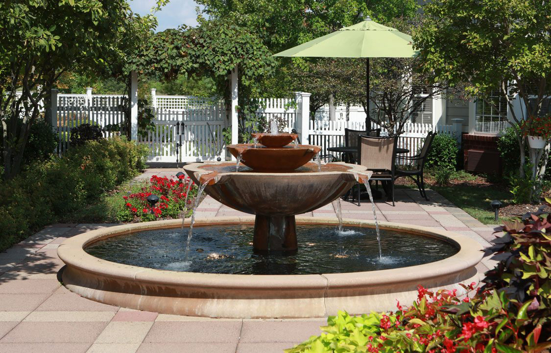 Parc Provence Memory Care Skilled Nursing Community Incredible Outdoor Spaces