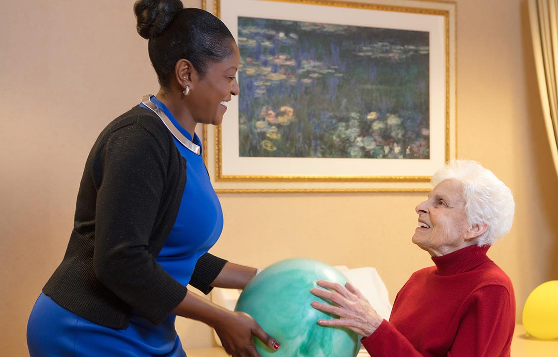 Parc Provence Memory Care Activities Physical Therapy