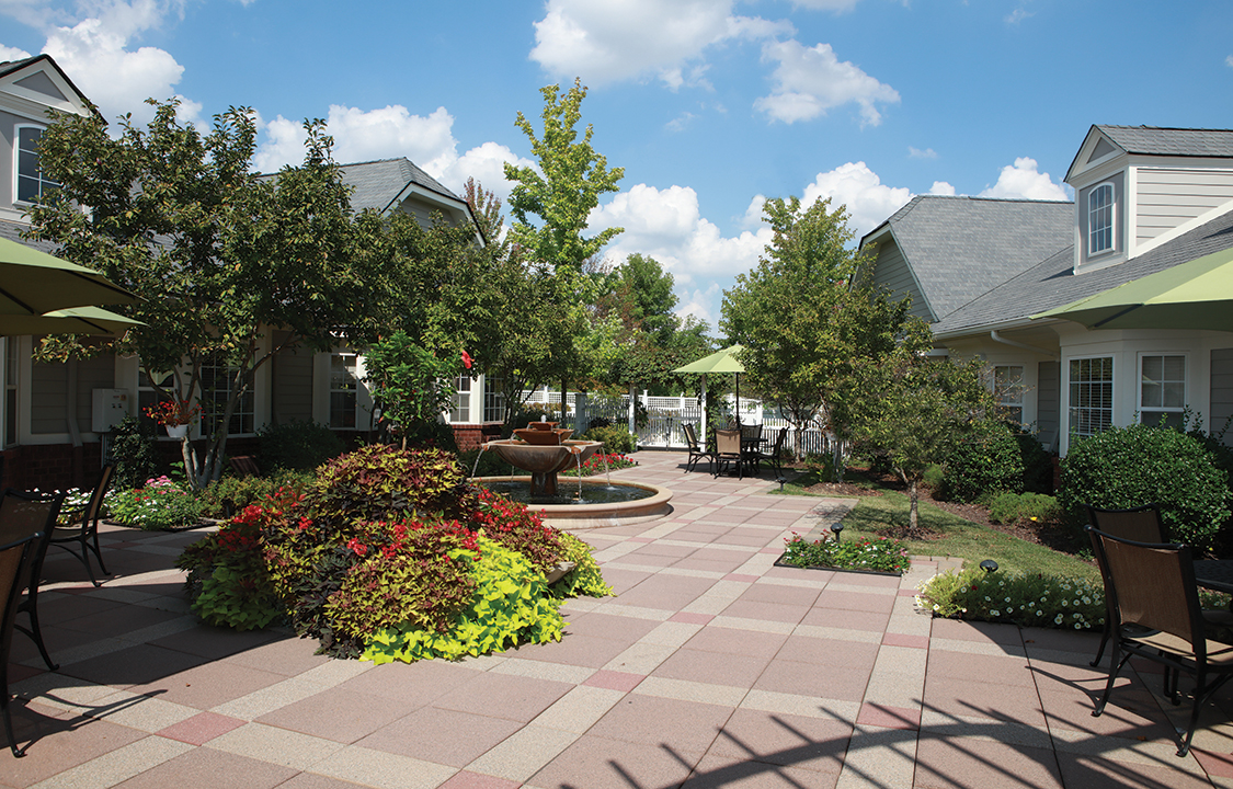 Parc Provence Memory Care Skilled Nursing Community Incredible Outdoor Spaces 2