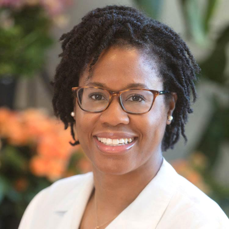 Portrait of Dr Lenise Cummings-Vaughn, Associate Medical Director